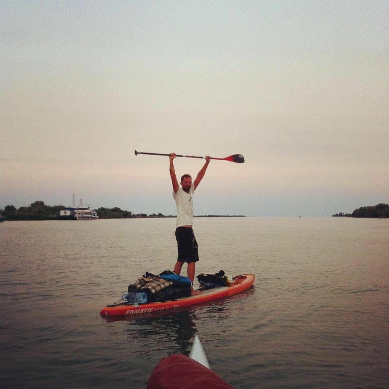 #72- Timm Kruse, 3000km stehend auf dem Surfboard