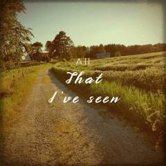 Aspen - All that i've seen (Prod. Riddiman)