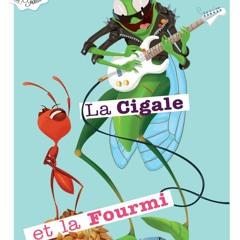 La Cigale Et La Fourmi - Pascal Bossard Voix Off