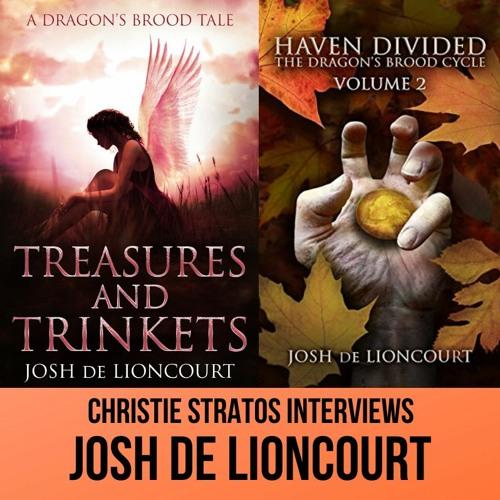 YA Epic Fantasy Author Josh De Lioncourt on Writers Showcase with Christie Stratos