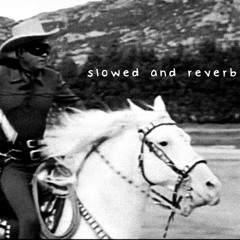 Marty Robbins - Gunfighter Ballads And Trail Songs - full album (Slowed+Reverb)