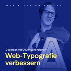 139: 5 Tipps um deine Web-Typografie zu verbessern - mit Oliver Schöndorfer