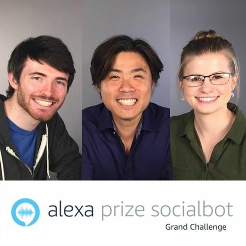 Alexa Prize Winners: Jinho Choi, Sarah Fillwock and James Finch from Emory University