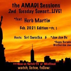 2nd Tues. Sunset Ses. LIVE! - Feb 2021 Ed. Pt. 1