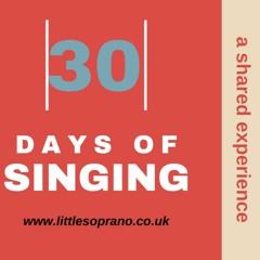 Day 4 30 Day Vocal Jump - Start