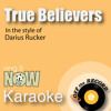 True Believers (made famous by Colt Ford with Jake Owen) [Karaoke Version with Lead Vocal]