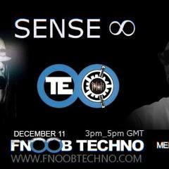 Sense ∞ on Fnoobtechno: ELLIE [11.12.2020]