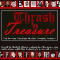 """Thrash 'n Treasure Ep28 - """"F&S&M: SympHaynie and Metallica"""" w/ F. Michael Haynie! (Broadway!)"""