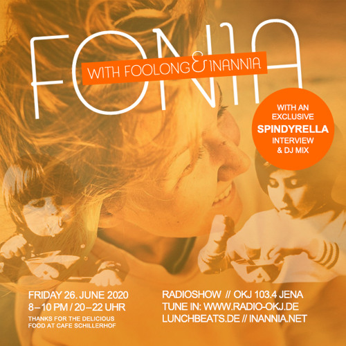 Fonia Radioshow - Session 55 (Guest: Spindyrella)