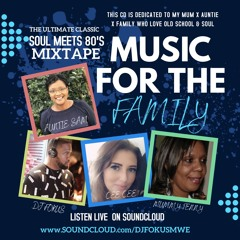 MUSIC FOR THE FAMIL VOLUME 1  /RNB/SOUL/80'S & SLOW CLASSICS