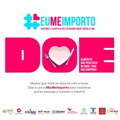 Campanha Eu Me Importo - Vale do Paraíba Paulista