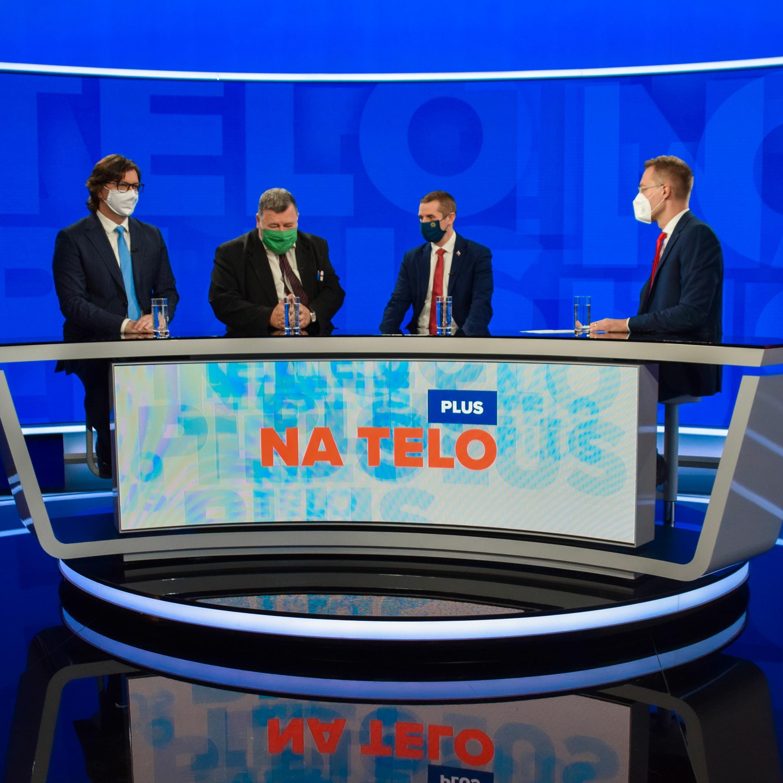 Na telo plus: Vladmír Krčméry, Roman Berkes a Martin Klus