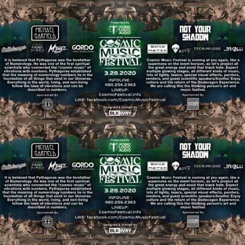 Cosmic Music Festival 2020 Hype Mix