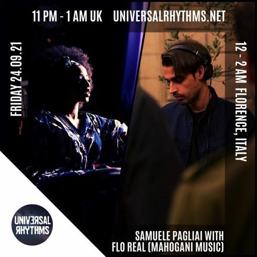Universal Rhythms Radio | Angis Music Show w/ FLO REAL - September 24th, 2021