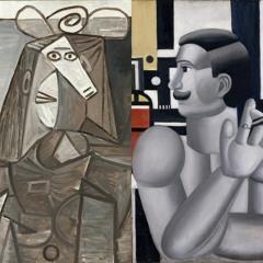 """""""Blabla d'art"""" - E2 > """"Le Mécanicien"""" de Fernand Léger et la """"Femme au chapeau"""" de Pablo Picasso"""