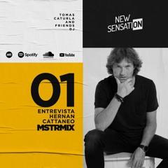 NEW SENSATION - MASTER MIX -(89.9 Rosario) Entrevista a HERNAN CATTANEO /TOMAS CATURLA