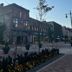 Fashion show in downtown Belleville