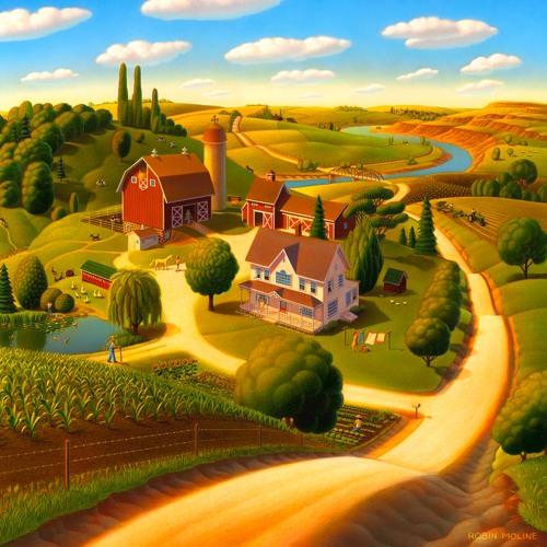 Jasper en Sanne op de boerderij (Anne de Vries-Neuteboom)