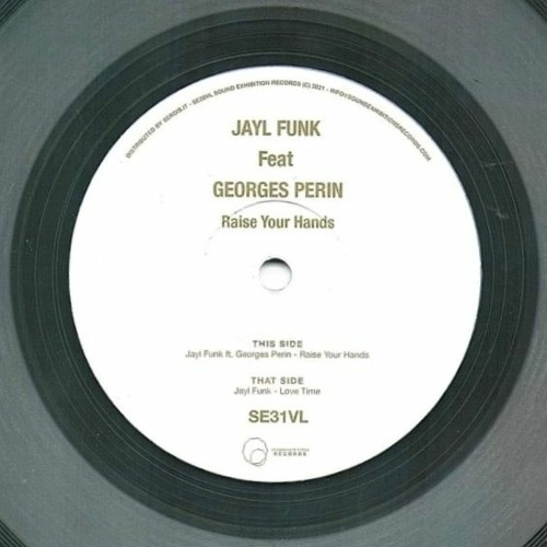 """Jayl Funk ft. Georges Perin - """"Raise Your Hands EP"""""""