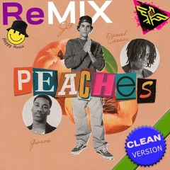 Justin Bieber - Peaches 🍑 (CLEAN Version Feel Good HOUSE 😋 Remix  By Felix)⭐️DOWNLOAD⭐️