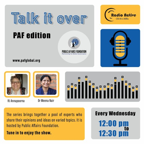 Talk It Over Ep 3 With Meena Nair By RJ Annapoorna