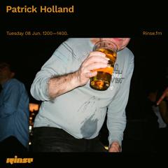 Patrick Holland - 08 June 2021
