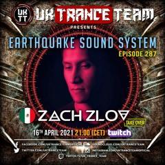 UkTranceTeam Pres. Earthquake Sound System 287 (Take Over By Zach Zlov)