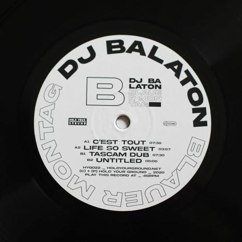 HYG022 DJ Balaton - Blauer Montag