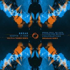 Break - Keepin It Raw (Calyx & TeeBee Remix)
