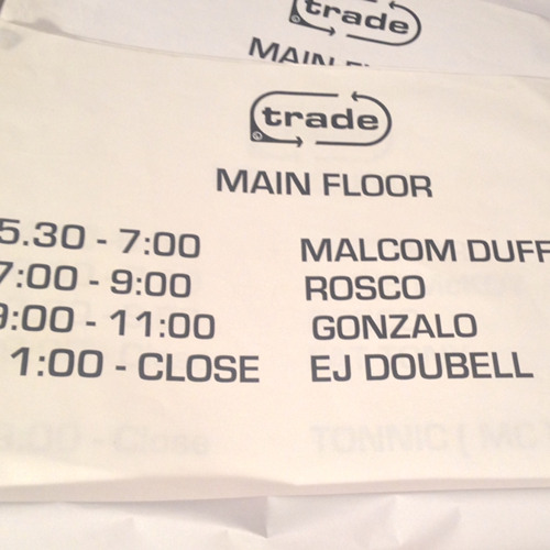 Live at Trade, Turnmills 2001 (Vinyl Only) Second Set