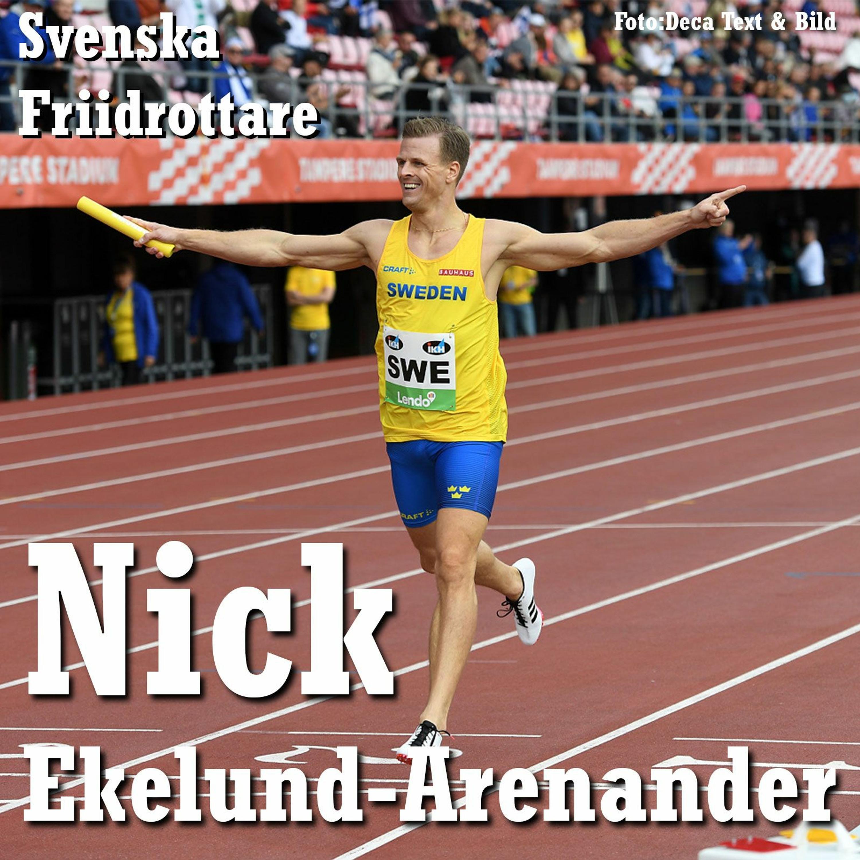 32. Svenska Friidrottare - Nick Ekelund-Arenander