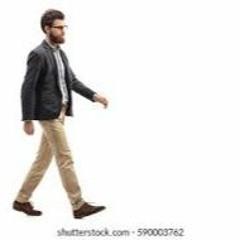 walking type beat