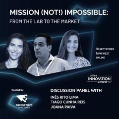 Mission (Not!) Impossible: From the Lab to the Market hosted by Productized