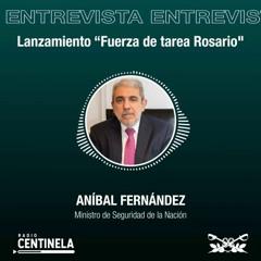 Entrevista Ministro de Seguridad Aníbal Fernández