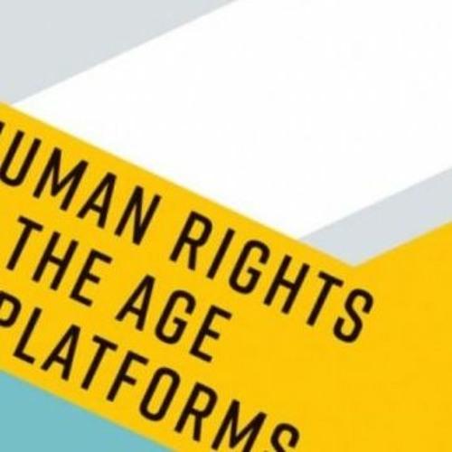 Rikke Frank Jørgensen om bogen: 'Human Rights in the age of platforms'