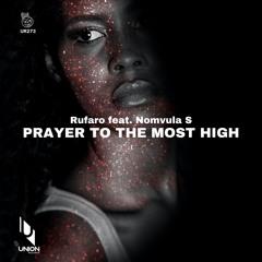 "UR274 Rufaro feat. Nomvula SA ""Prayer to the Most High"" *prewiev"