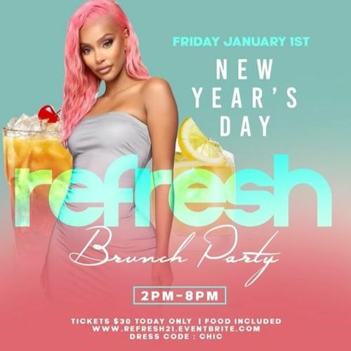 DJ BoogyRank$$ - Refresh Brunch Party LIVE AUDIO (01.01.21)