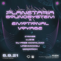 UrbnMowgli B2b Moodrich Planetaria Soundsystem X Emotional Voyage Records