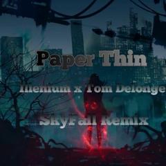 ILLENIUM, Tom DeLonge, Angels & Airwaves - Paper Thin(SkyFall Remix)