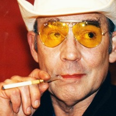HUNTER S. THOMPSON'S DAILY ROUTINE. (2021)