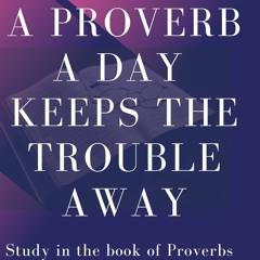 Proverbs 17:18-28
