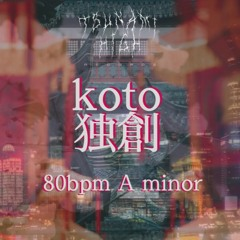 KOTO TYPE BEAT 80 BPM A MINOR[FOR SALE]