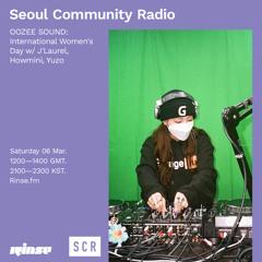 Seoul Community Radio with OOZEE SOUND: International Women's Day - 06 March 2021