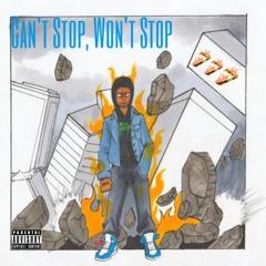 Can't Stop, Won't Stop (Prod.Saba)