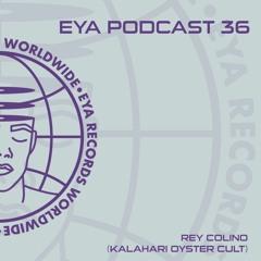 EYA Podcast 36 - Rey Colino (Kalahari Oyster Cult)
