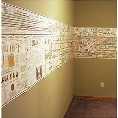 {epub download} Adams Synchronological Chart or Map of History - Historical Timeline Wall Panel [Fr