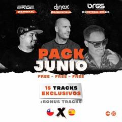 PACK JUNIO FREE PROF NEV BRGS (15 TRACKS + BONUS)
