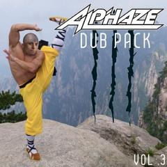 ALPHAZE - DUBPACK VOL. 3 *LIMITED AVAILABILITY*