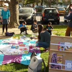 Une bibliothèque de rue pour les enfants des Canourgues
