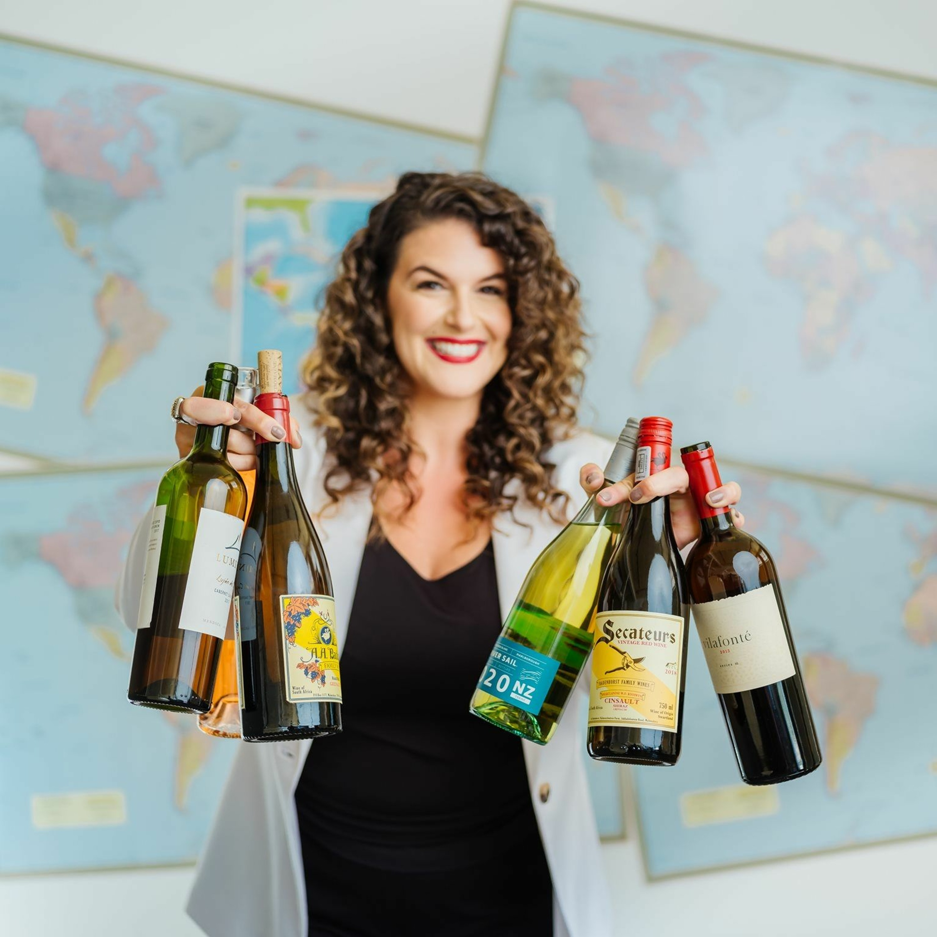 Founder of Humanity Wine Maria Lauricella